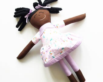 Handmade Black Doll