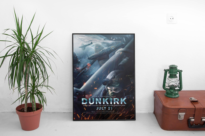 Dunkerque Filmplakat Pilot Kunst Christopher Nolan 2017