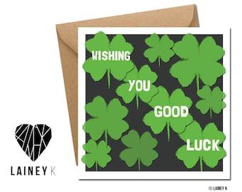 Wishing you good luck