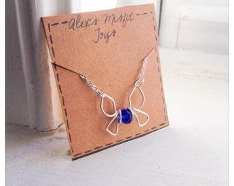 Legend of Zelda - Blue Fairy Navi Necklace