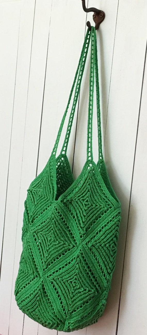 CROCHET PATTERN Tote Bag Crochet Pattern Handbag Crochet