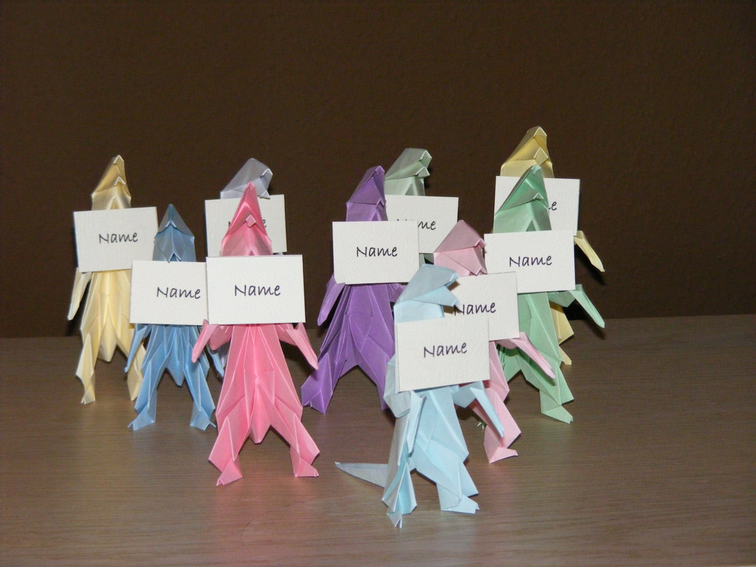 Dinosaur Party Origami Dino Set Of 10