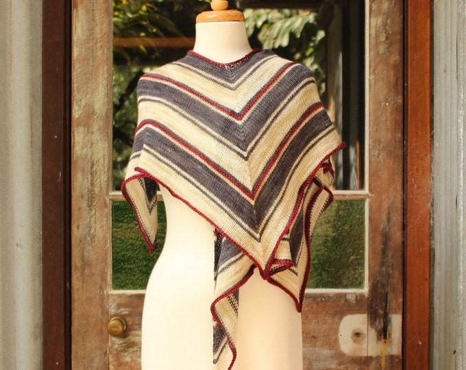 Striped Hummingbird Wrap.  PATTERN ONLY!!!