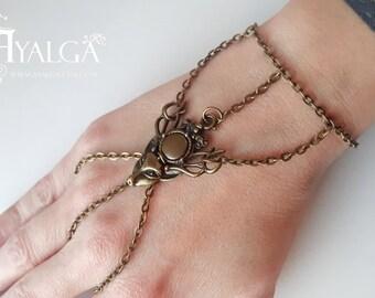 deer slave - deer bracelet ring - baratheon bracelet- statement jewelry