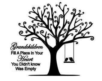 Family Tree SVG FILE