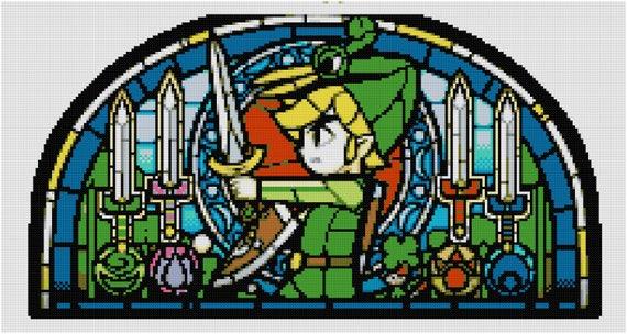 Legend Of Zelda Cross Stitch Pattern The Minish Cap