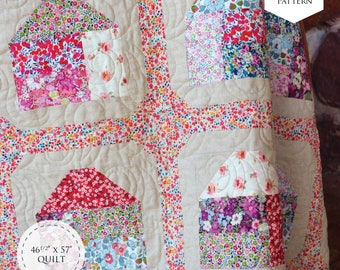 Poppy Lane Quilt PDF Pattern
