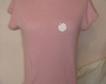 cotton knit t shirt