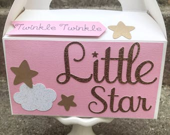Twinkle Twinkle Little Star Favors -Twinkle Twinkle Little Star Decoration - Baby Shower Decorations - First Birthday - Set of 10