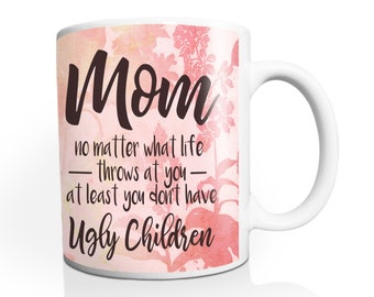 Funny Mothers Day Gift for Mom from Daughter Mother's Day Gift Mom Gift from Daughter Mom Birthday Gift for Mom Mug M3