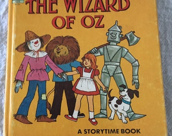 Vintage Wizard of Oz Storytime  Book