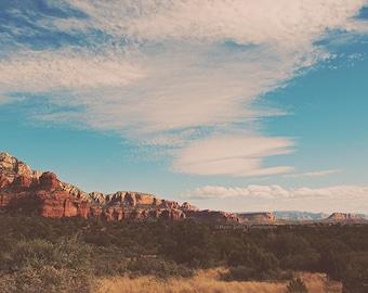 Sedona photography, Arizona photo, desert wall art, southwestern decor, red rocks print, landscape photograph, Sedona art, Myan Soffia