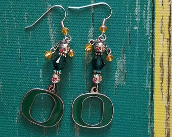 Oregon Ducks Earrings