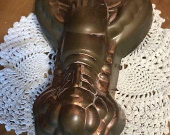 Large Vintage lobster copper mold.
