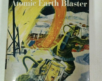 Tom Swift and His Atomic Earth Blaster Book Vintage Atomic Age Novel Pulp