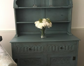 Beautiful hand painted Welsh dresser
