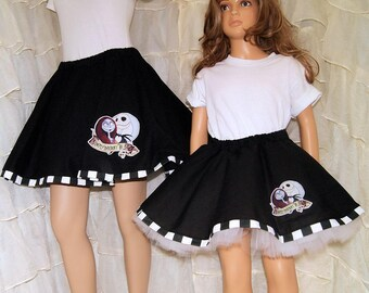 NMBC Jack and Sally Circle Skirt Adult Medium - MTCoffinz - Ready to Ship