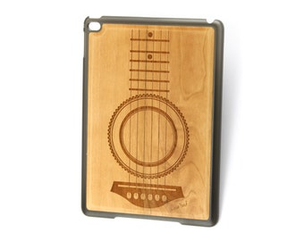 iPad Air case, iPad Mini case, iPad Mini 2 case, iPad 3 case, iPad engraved case, custom iPad case,Guitar wood engraved case