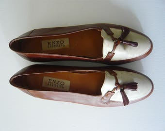 Spectator Loafers Enzo Angiolini Women's Size 10