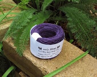 Purple #804 - 10/3 Hemp Yarn