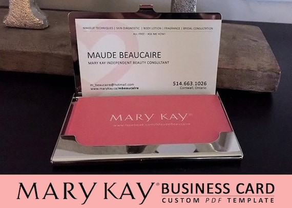 Mary kay business cards design only no printing digital mary kay business cards design only no printing digital files colourmoves Gallery
