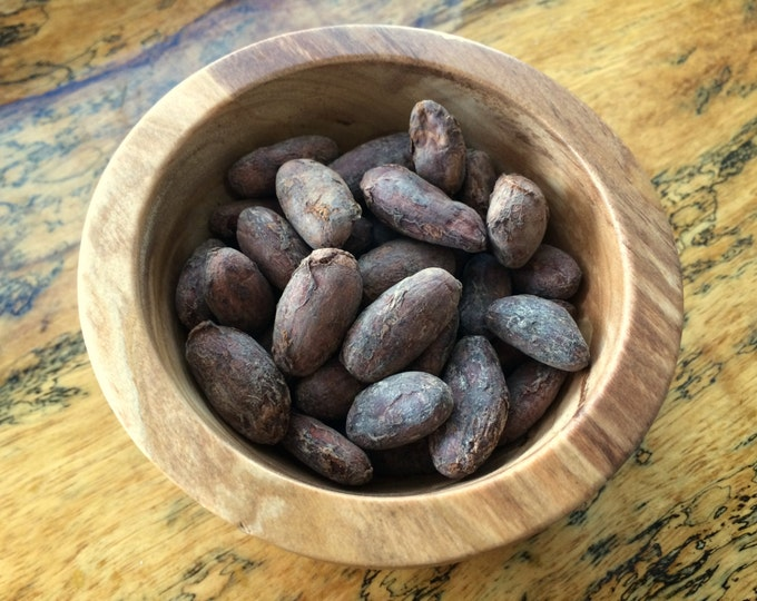 Whole Hawaiian Cacao Beans- 3oz