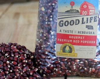 Nebraska Gourmet Premium Red Popcorn - BNEB5019