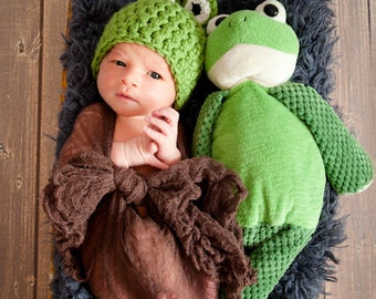 Frog Hat, Newborn Frog Hat, Baby Frog Hat, Newborn Photography Props, Baby Animal Hats, Frog Costume, Baby Frog Costume, Props for Newborns