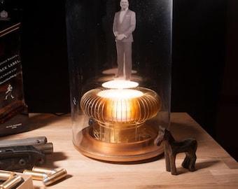 blade runner 2049 inspired holographic projector prop replica