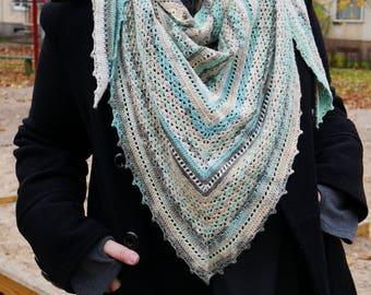 Bamboo cotton shawl