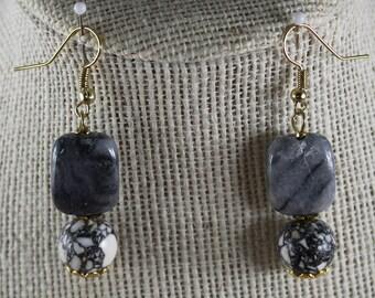 Gary Magnesite Earring's Jewelry