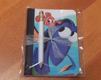 Up cycled MINI Composition Book Disney Finding Nemo
