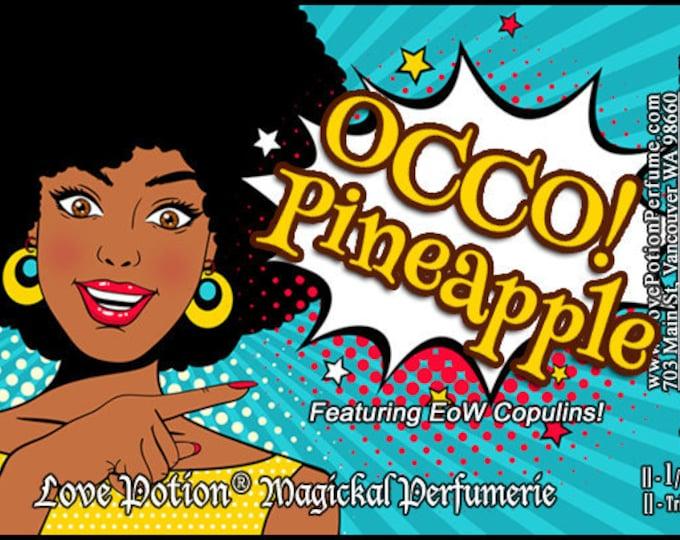 OCCO: Pineapple w/Copulins - LIMITED EDITION! - Pheromone Enhanced Perfume for Women - Love Potion Magickal Perfumerie