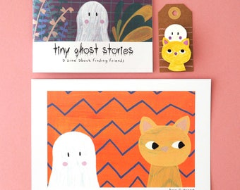 Tiny ghost stories set