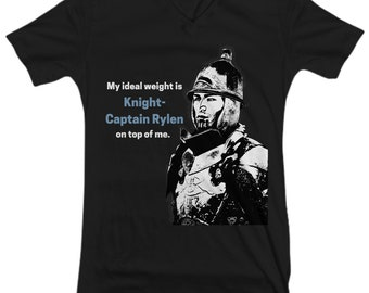 Knight Captain Rylen V-neck tshirt