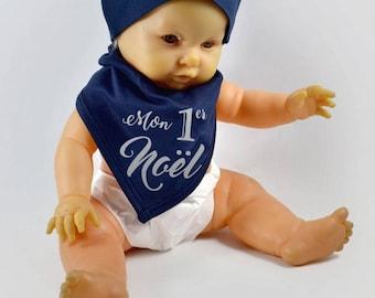 Bandana baby - toddler 'My 1st Christmas' - Christmas gift