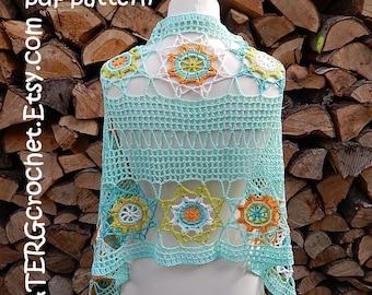 Crochet pattern SUMMER WRAP by ATERGcrochet