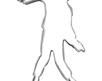 ZOMBIE 4.5 Inch Metal Cookie Cutter
