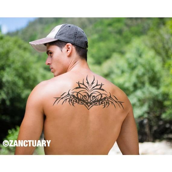 homme tatouage temporaire tribal tattoo tatouage temporaire. Black Bedroom Furniture Sets. Home Design Ideas
