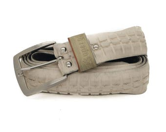 """Bicycle Tire Belt """"Superga"""" (upcycled vegan handmade) by tirebelt.com - Fall Collection 2017"""