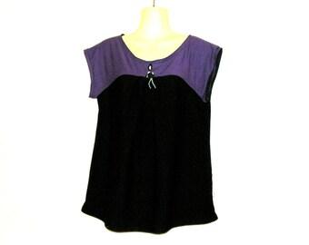 T Shirts, Womens Tops, T Shirt Tops, 1980s Tops, Womens T Shirts,Rebecca Jordan