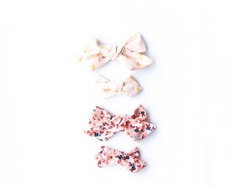 The Ollie Bow- Floral