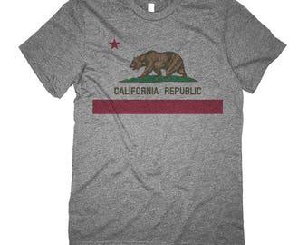 Retro California Shirt - California State Flag Shirt