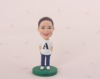 Personalized gifts for kids, birthday gift for kids, unique christmas gifts for children, best kids gifts, bobblehead gifts from parents