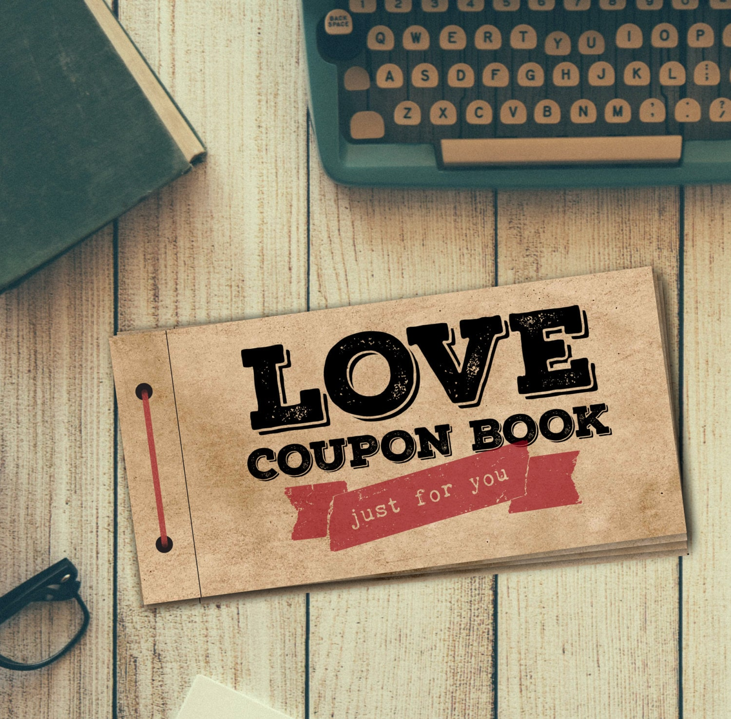Love coupon book for him printable diy gift digital pdf zoom solutioingenieria Images