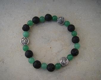 Celtic Aventurine Bracelet