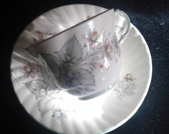 Rosina China Co. Centenary Dear Teacup, Bone China Floral Teacup, Made in England Teacup