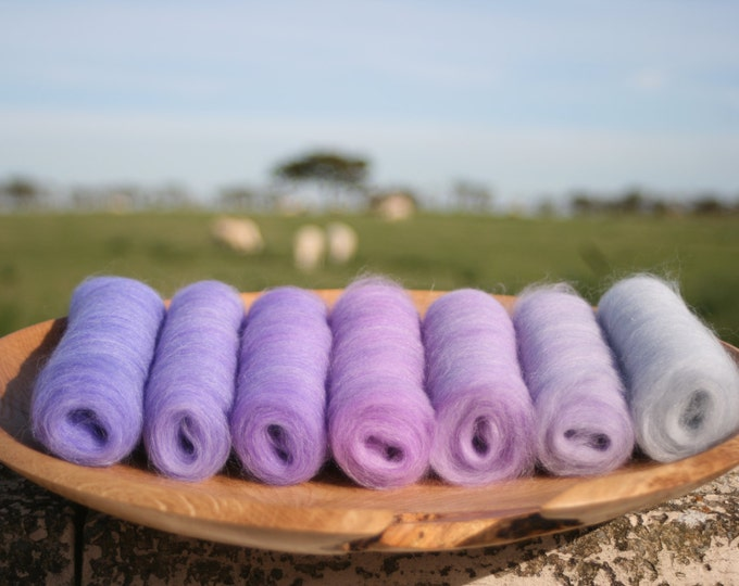 Bluebell Dawn Gradient Batt Set - 100g