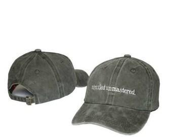 Kendrick Lamar Untitled Unmastered Hat