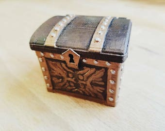 Tresure Chest Dice Case D&D Dungeons and Dragons Warhammer 40k WH40k